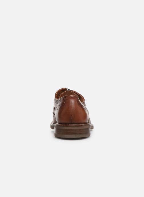 Zapatos con cordones Marvin&Co Rossano Marrón vista lateral derecha