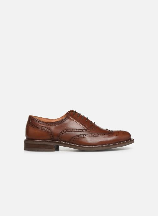 Lace-up shoes Marvin&co Rossano Brown back view