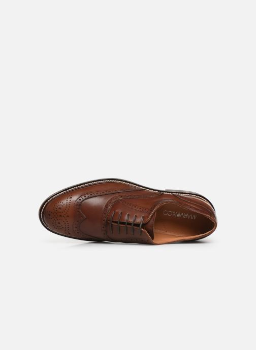 Lace-up shoes Marvin&co Rossano Brown view from the left