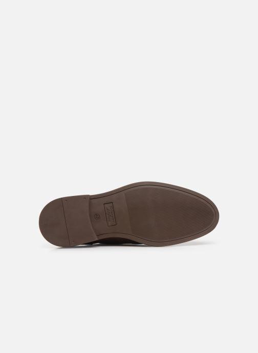 Chaussures à lacets Marvin&Co Rossano Marron vue haut