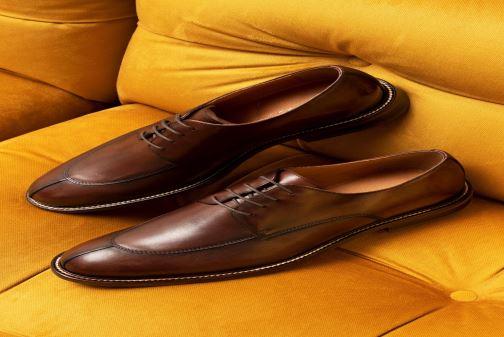 Chaussures à lacets Marvin&Co Romero Marron vue bas / vue portée sac