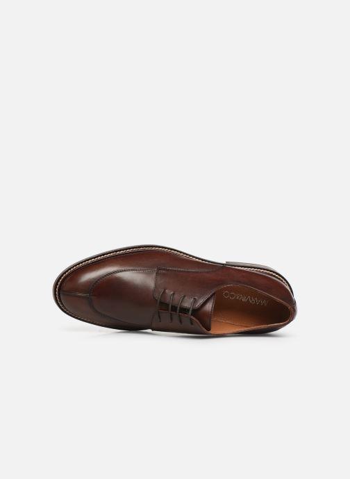 Chaussures à lacets Marvin&Co Romero Marron vue gauche