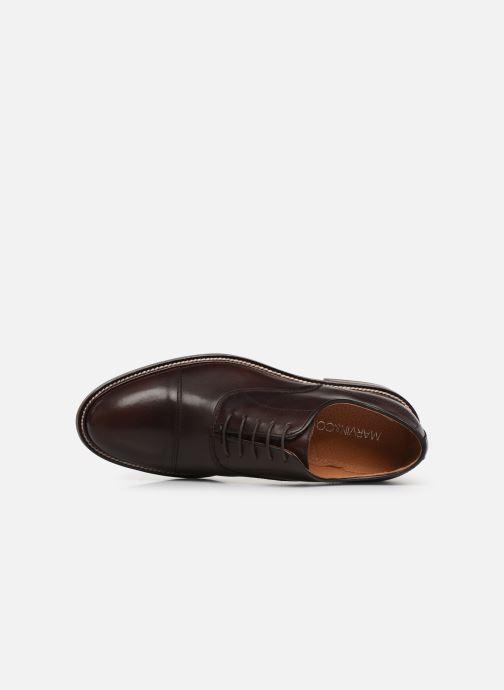 Zapatos con cordones Marvin&Co Riaz Marrón vista lateral izquierda