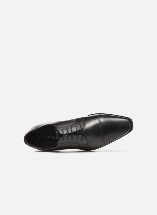 Chaussures à lacets Marvin&Co Ravi Noir vue gauche