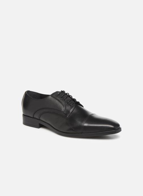 Snøresko Marvin&Co Ravi Sort detaljeret billede af skoene
