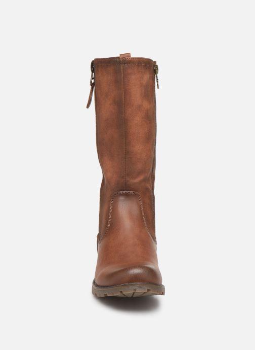 Bottes Xti 56922 Marron vue portées chaussures