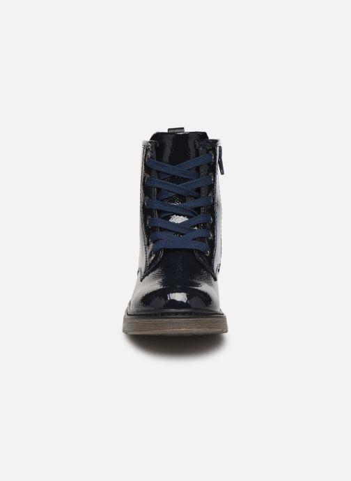 Bottines et boots Xti 56949 Bleu vue portées chaussures