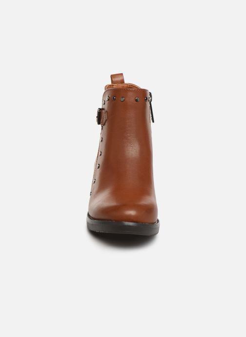Bottines et boots Xti 56978 Marron vue portées chaussures
