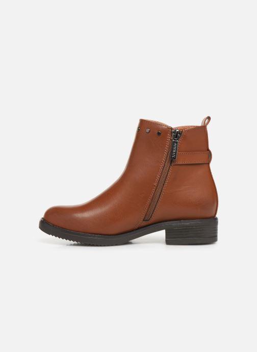 Stiefeletten & Boots Xti 56978 braun ansicht von vorne