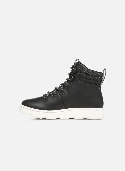 Chaussures de sport Cloudsteppers by Clarks Step ExplorHi. Noir vue face