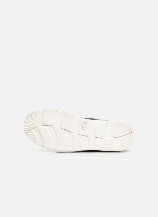 Chaussures de sport Cloudsteppers by Clarks Step ExplorHi. Noir vue haut