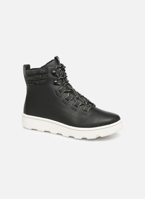 Chaussures de sport Cloudsteppers by Clarks Step ExplorHi. Noir vue détail/paire