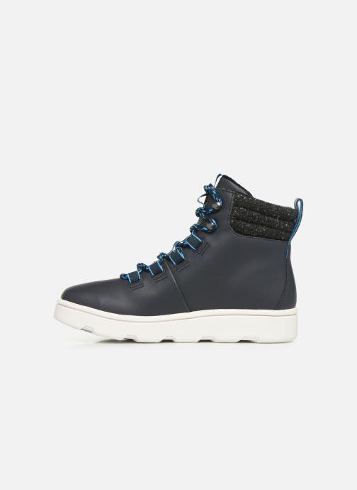 Chaussures de sport Cloudsteppers by Clarks Step ExplorHi. Bleu vue face