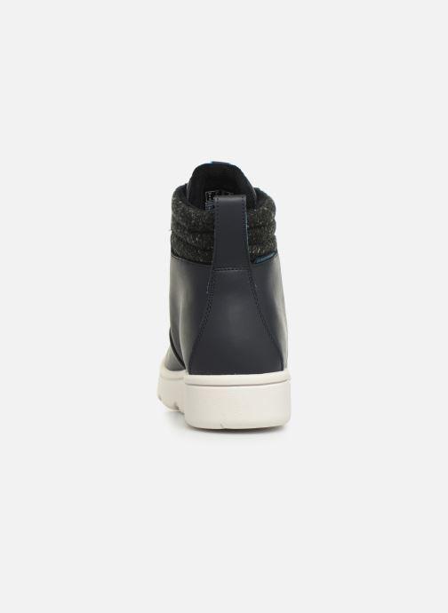 Chaussures de sport Cloudsteppers by Clarks Step ExplorHi. Bleu vue droite