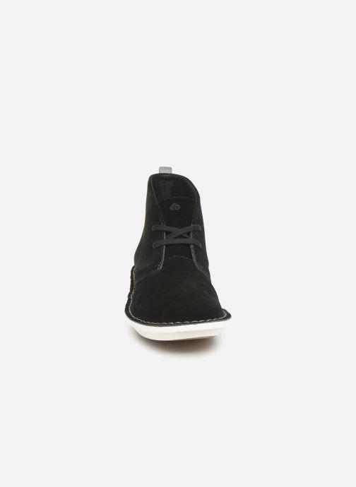 Bottines et boots Cloudsteppers by Clarks Step WeltIsle. Noir vue portées chaussures