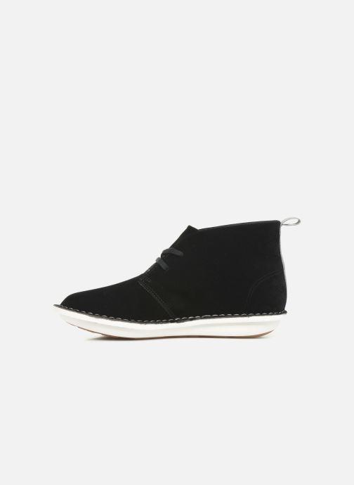 Bottines et boots Cloudsteppers by Clarks Step WeltIsle. Noir vue face
