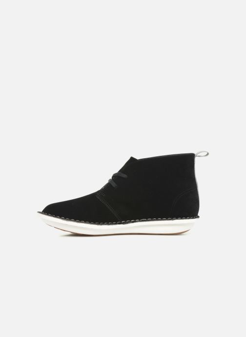 Bottines et boots Cloudsteppers by Clarks Step WeltIsle. Noir vue face