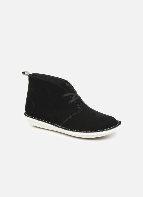 Bottines et boots Cloudsteppers by Clarks Step WeltIsle. Noir vue détail/paire