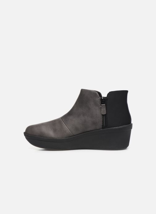 Bottines et boots Cloudsteppers by Clarks Step Rose Up Gris vue face