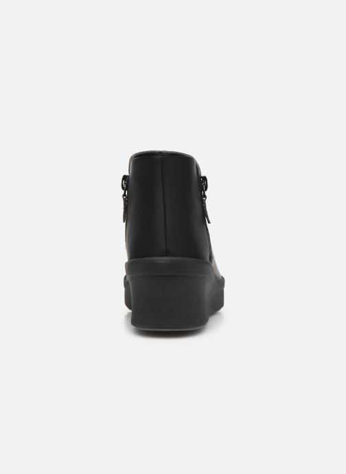 Bottines et boots Cloudsteppers by Clarks Step Rose Up Gris vue droite