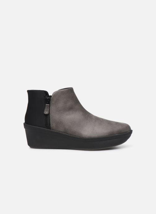 Botines  Cloudsteppers by Clarks Step Rose Up Gris vistra trasera