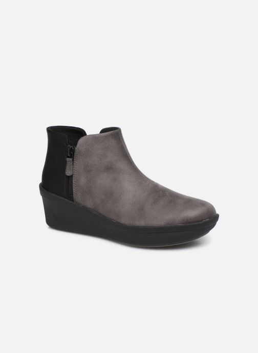 Bottines et boots Cloudsteppers by Clarks Step Rose Up Gris vue détail/paire