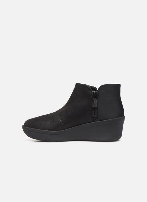 Bottines et boots Cloudsteppers by Clarks Step Rose Up Noir vue face