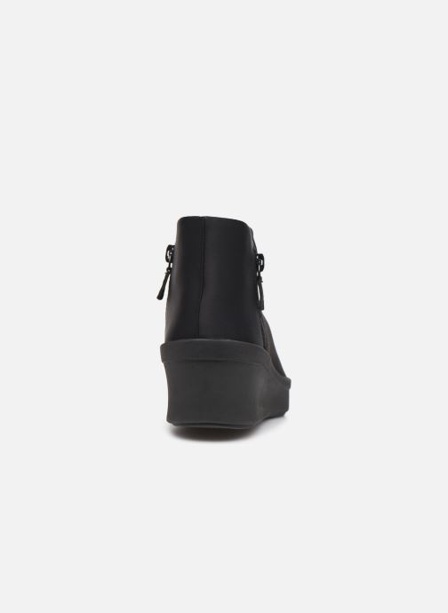 Bottines et boots Cloudsteppers by Clarks Step Rose Up Noir vue droite