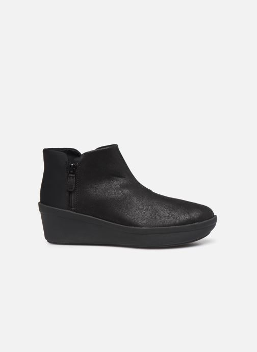 Botines  Cloudsteppers by Clarks Step Rose Up Negro vistra trasera