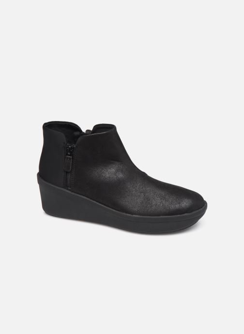 Bottines et boots Cloudsteppers by Clarks Step Rose Up Noir vue détail/paire