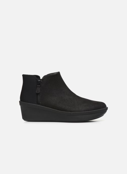 Pantuflas Cloudsteppers by Clarks Step Flow Low Negro vistra trasera