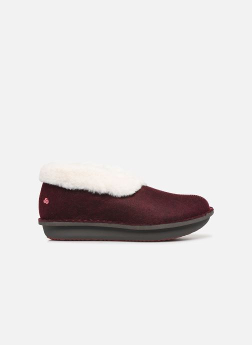 Pantuflas Cloudsteppers by Clarks Step Flow Low Vino vistra trasera