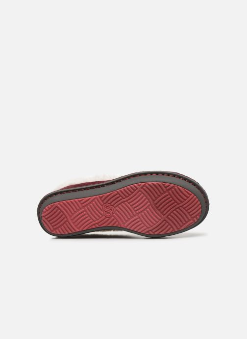 Pantofole Cloudsteppers by Clarks Step Flow Low Bordò immagine dall'alto