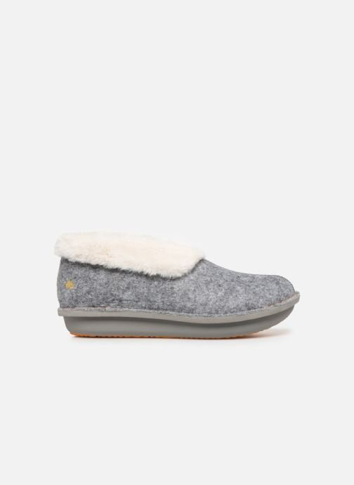 Pantuflas Cloudsteppers by Clarks Step Flow Low Gris vistra trasera