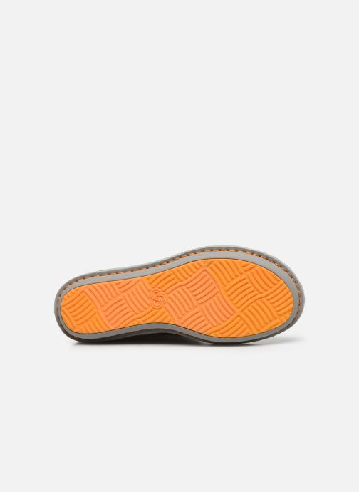 Chaussons Cloudsteppers by Clarks Step Flow Low Gris vue haut