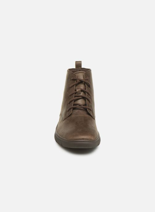 Ankle boots Cloudsteppers by Clarks Tunsil Grove Brown model view