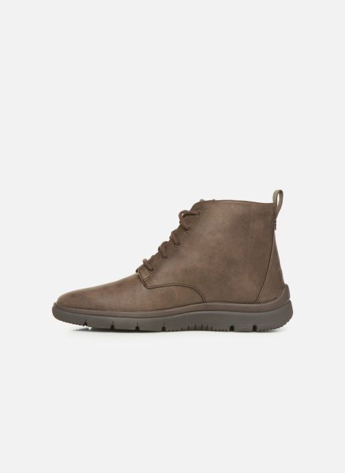 Ankle boots Cloudsteppers by Clarks Tunsil Grove Brown front view