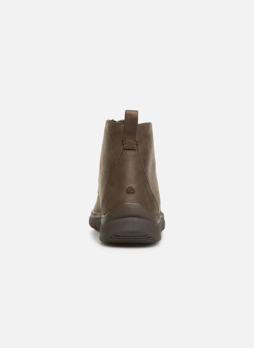 Bottines et boots Cloudsteppers by Clarks Tunsil Grove Marron vue droite