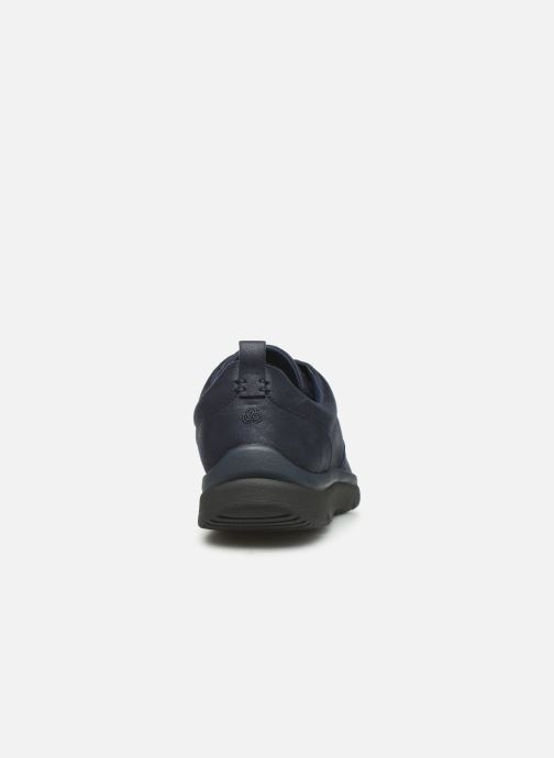 Trainers Cloudsteppers by Clarks Tunsil Lane Blue view from the right