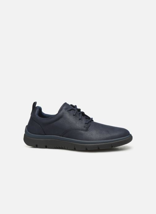 Trainers Cloudsteppers by Clarks Tunsil Lane Blue back view