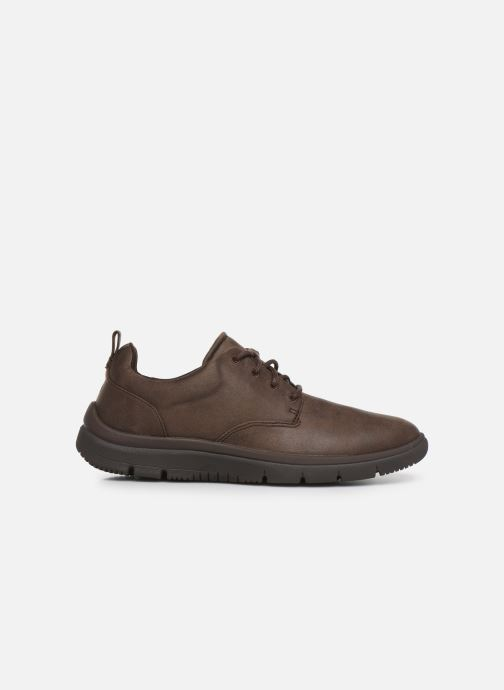 Trainers Cloudsteppers by Clarks Tunsil Lane Brown back view