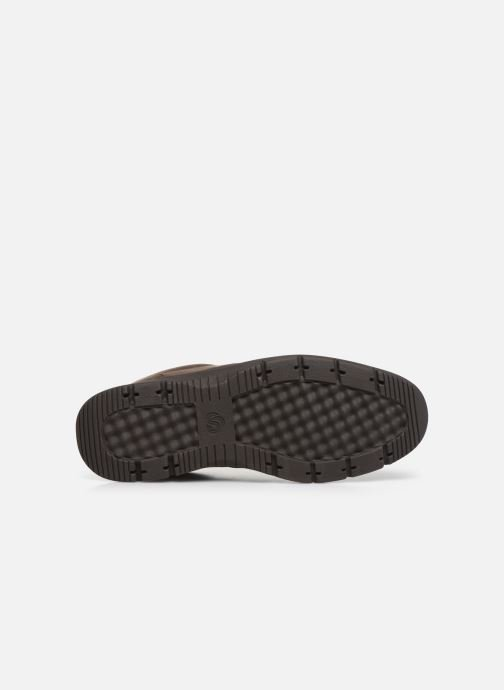 Baskets Cloudsteppers by Clarks Tunsil Lane Marron vue haut