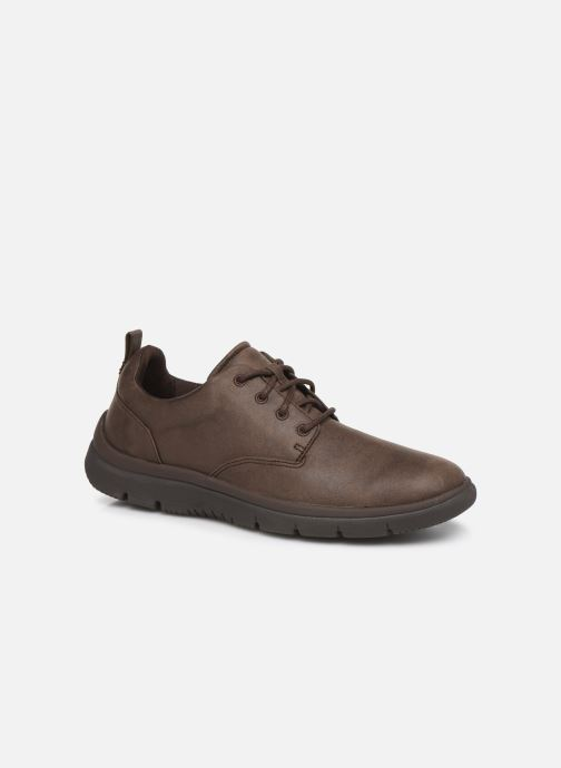 Trainers Cloudsteppers by Clarks Tunsil Lane Brown detailed view/ Pair view