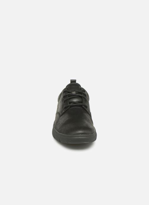 Baskets Cloudsteppers by Clarks Tunsil Lane Noir vue portées chaussures