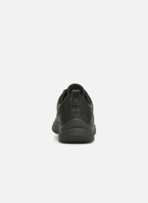 Trainers Cloudsteppers by Clarks Tunsil Lane Black view from the right