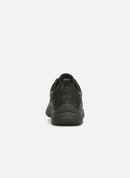 Baskets Cloudsteppers by Clarks Tunsil Lane Noir vue droite
