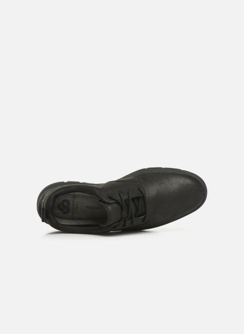Sneaker Cloudsteppers by Clarks Tunsil Lane schwarz ansicht von links