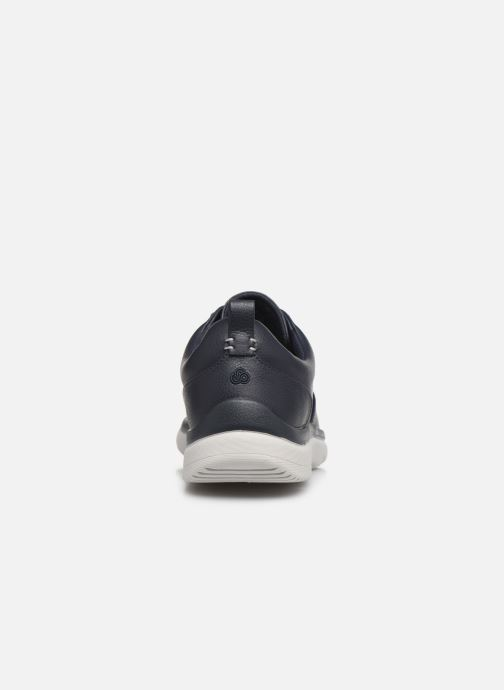 Sneakers Cloudsteppers by Clarks Tunsil Lane Azzurro immagine destra