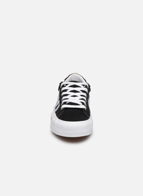 Sneaker Vans Sid NI schwarz schuhe getragen