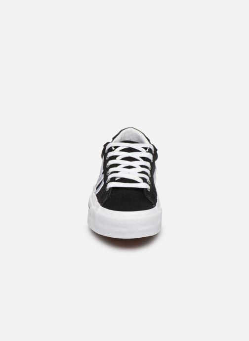 Baskets Vans Sid NI Noir vue portées chaussures
